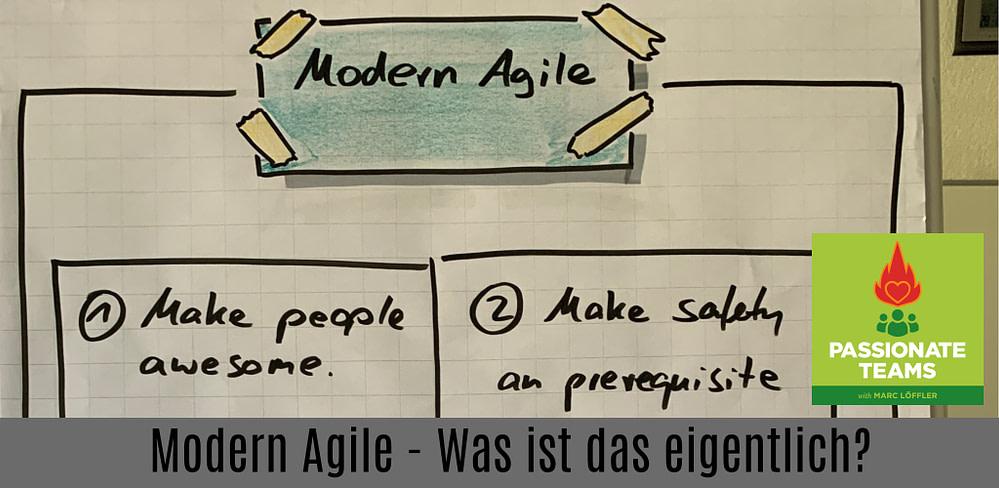 Podcast-Titel: Modern Agile, was ist das eigentlich